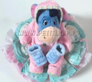 gateau de couches pas cher pour bébé