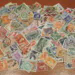 Une collection de timbre en héritage