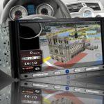 Un autoradio high-tech est indispensable, surtout les modèles avec GPS